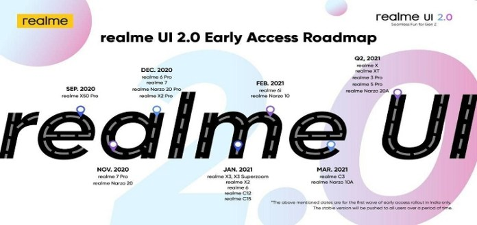 A new Realme smartphone will be unboxed next month with Realme UI 2.0