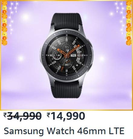 Samsung Galaxy Watch to get a massive ₹ 12,500 discount on Amazon Great Indian Festival