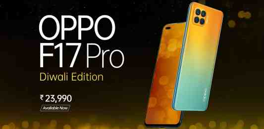 Oppo F17 Pro Diwali Edition is now available in India with 2 Gifts in the box