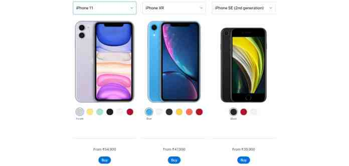 No in-box chargers and EarPods in iPhone 11, SE (2020), and XR models from now on