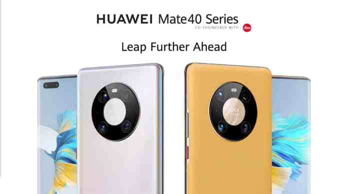 Huawei Mate 40, 40 Pro, Pro+ and RS launched: Specifications and Price revealed