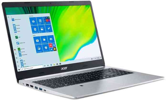 """Acer Aspire 5 A515 with AMD Ryzen 7 5700U """"Lucienne"""" APU listed on Amazon Italy for €779"""