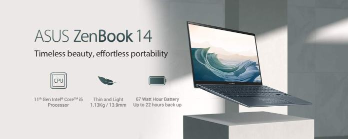 Asus Zenbook 14 with latest 11th Gen Intel processors launching on 10th November via Amazon India