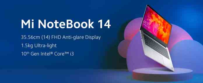 Mi Notebook 14 e-Learning Edition becomes the best selling on Amazon in just a day of launch