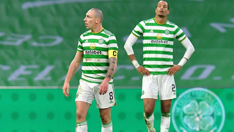 Celtic respond to violent protests after shocking League Cup defeat at home