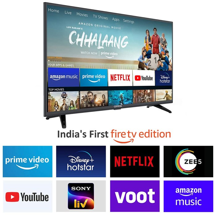Onida brings India's First Fire TV Edition with Fire OS, starts at ₹ 14,499