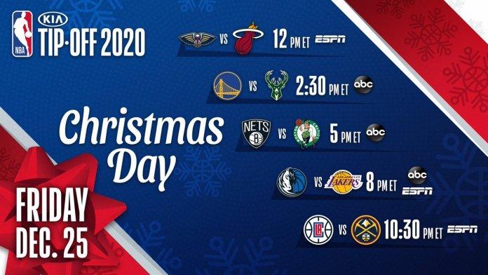 NBA Christmas Day Schedule.