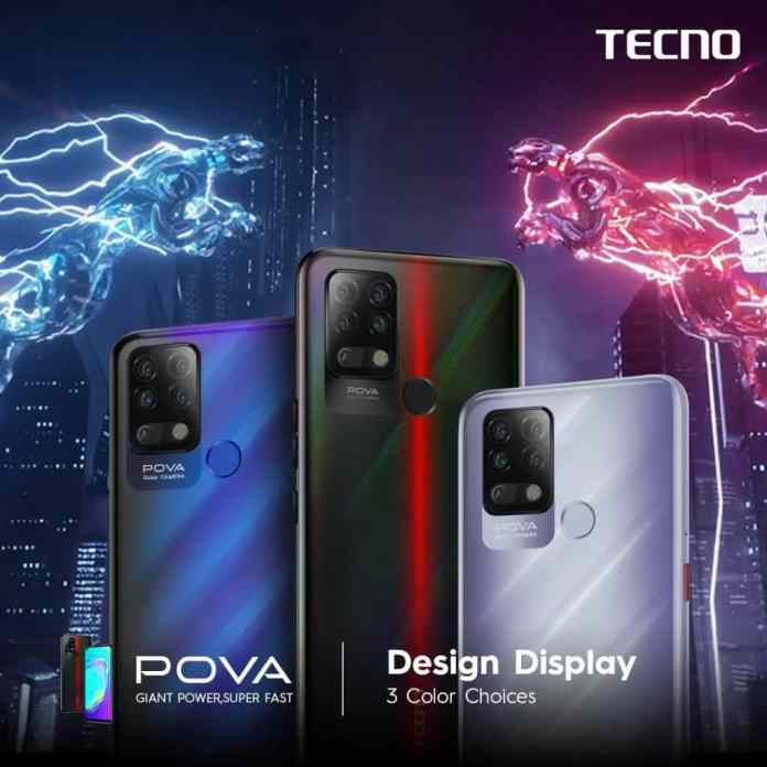 Tecno POVA gaming smartphone launched in India at just INR 9,999