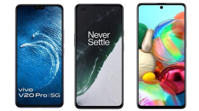 Top 3 Best Budget 5G Smartphones to buy in India | December 2020