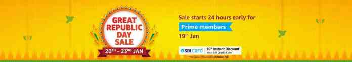 Amazon Great Republic Day Sale__TechnoSports.co.in