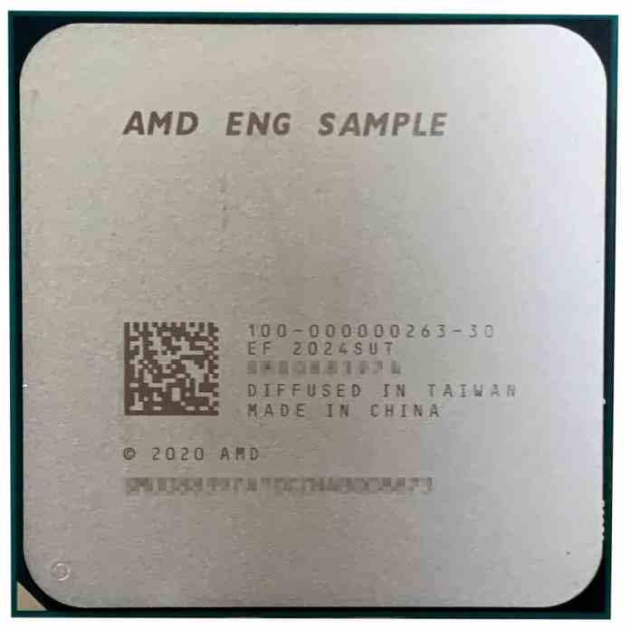 AMD Ryzen 7 5700G spotted again, faster than Ryzen 7 3700X