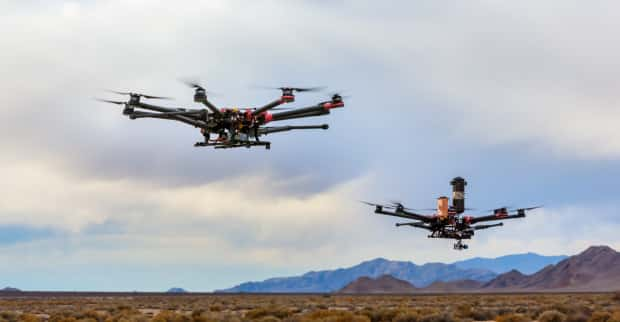 Verizon, UPS, and Skyward collaboratively launch delivery drones at CES 2021__TechnoSports.co.in