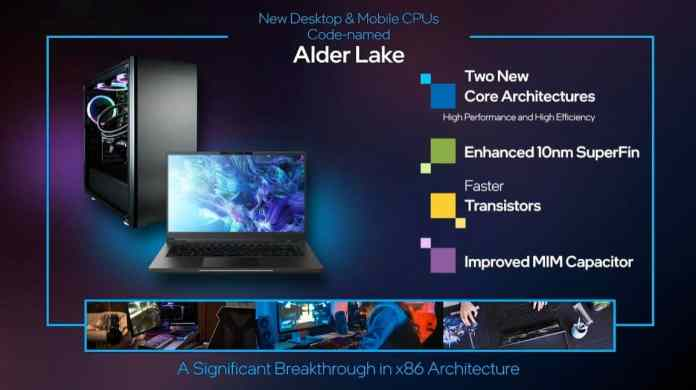 CES 2021: Intel's 12th Generation Alder Lake chipsets based on 10nm process coming in H2 2021