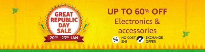 Best Electronic & Accessories deals revealed for Amazon Great Republic Day Sale