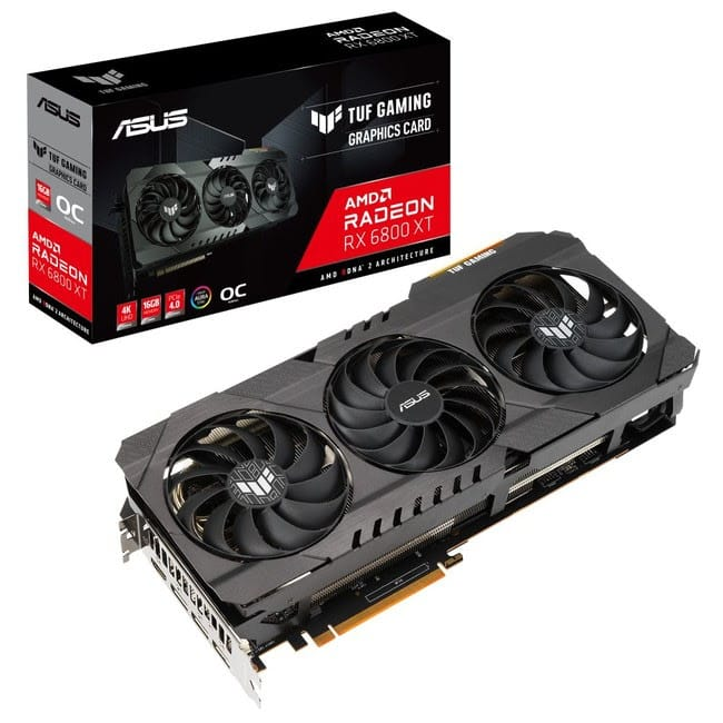 ASUS launches 4 models of Radeon RX 6000 GPU series in Japan