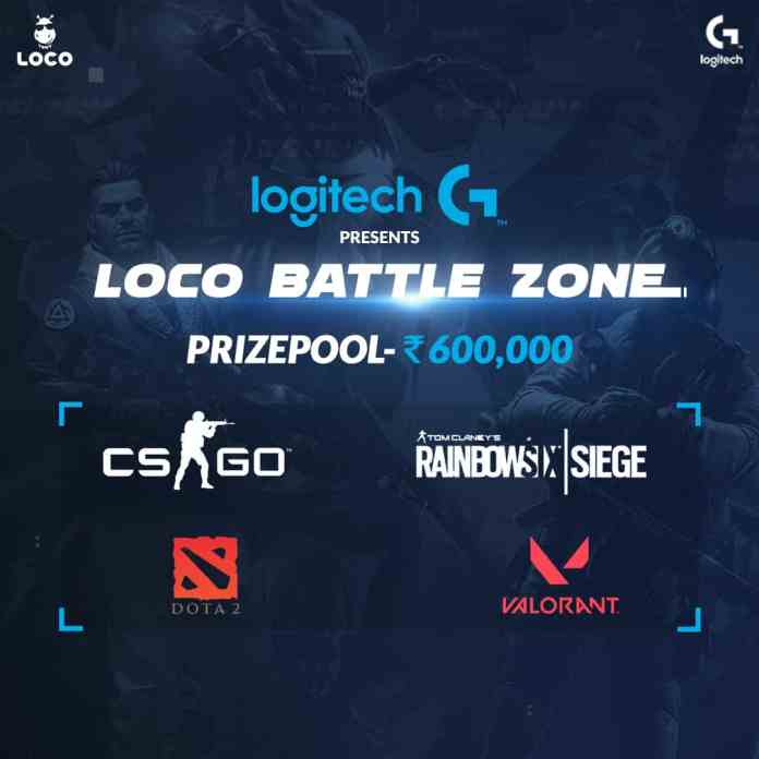 Global Tech giant Logitech G and Pocket Aces' Loco join hands to host India's largest PC tournament__TechnoSports.co.in