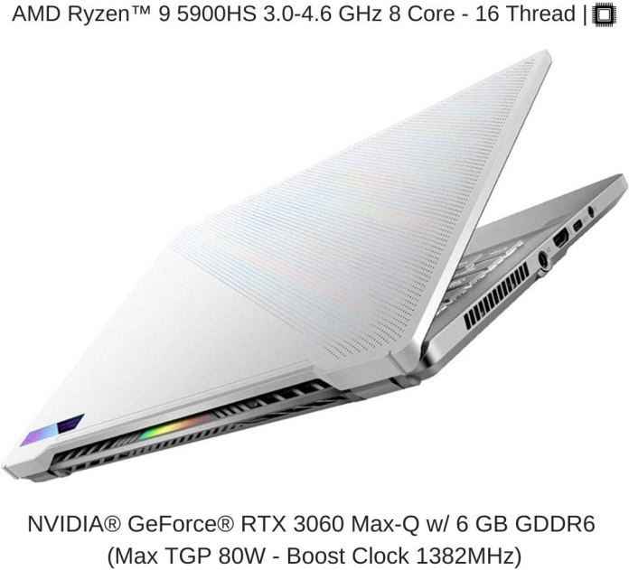 HIDevolution's ROG Zephyrus G14 with up to Ryzen 9 5900HS & RTX 3060 available on Amazon