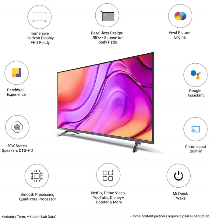 It is the best time to buy the MI TV 4A Horizon Edition on Amazon