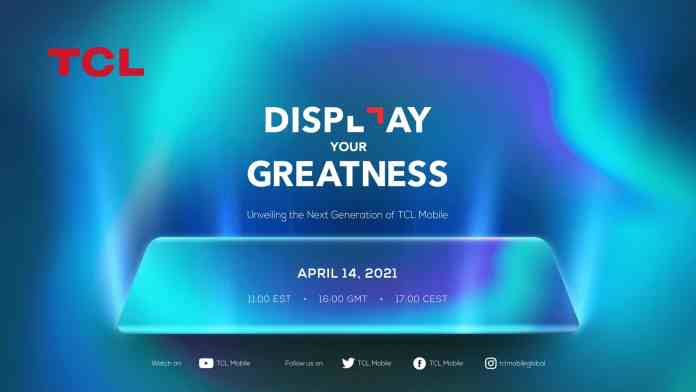 TCL Mobile Global is organizing an event on April 14