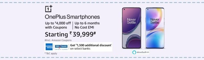 How to get the OnePlus 8T 5G for just ₹38,499?