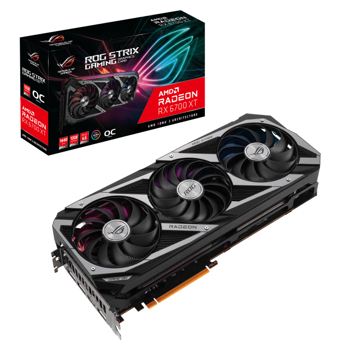 ASUS announces ROG Strix TUF Gaming and Dual AMD Radeon RX 6700 XT Series Graphics Cards