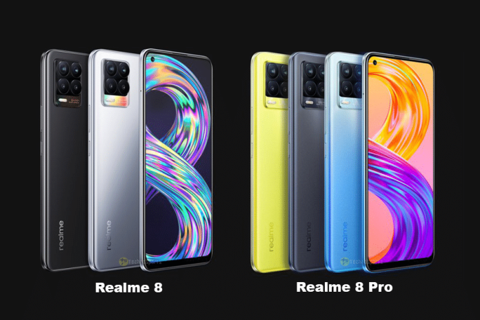 Realme 8 and Realme 8 Pro launched in India: Prices, Availability and Specifications