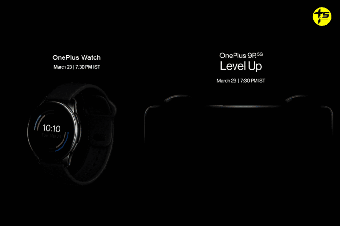 OnePlus 9R 5G and OnePlus Watch first look is here