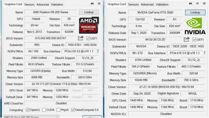 GPU-Z 2.38.0 will tell you if your graphics card supports Resizable BAR