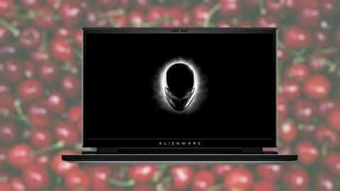 Alienware x Cherry Gaming Laptop Features The DeLorean-inspired 'True Mechanical Key Switches'