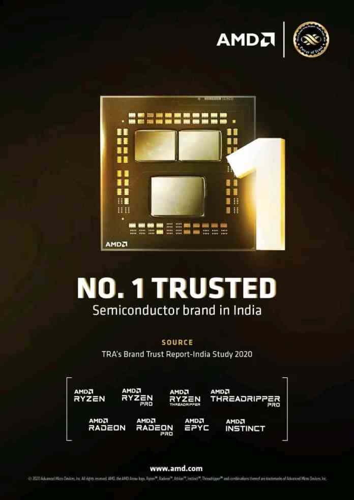 Most Trusted Brand of India in Semiconductor category by TRA