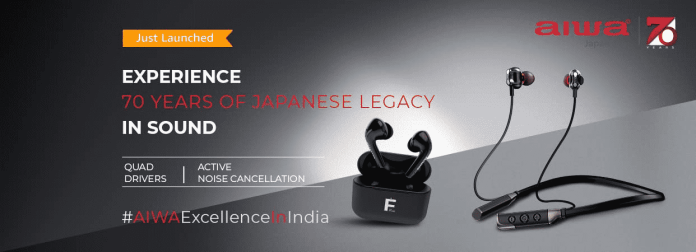 AIWA reenters the Indian Audio market with four new products_TechnoSports.co.in