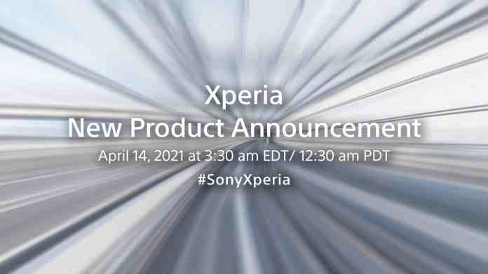 Sony Xperia New Product Announcement Event on April 14