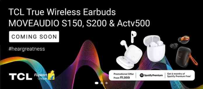 TCL MoveAudio S150, MoveAudio S200, ACTV500 TWS Earphones Launched in India