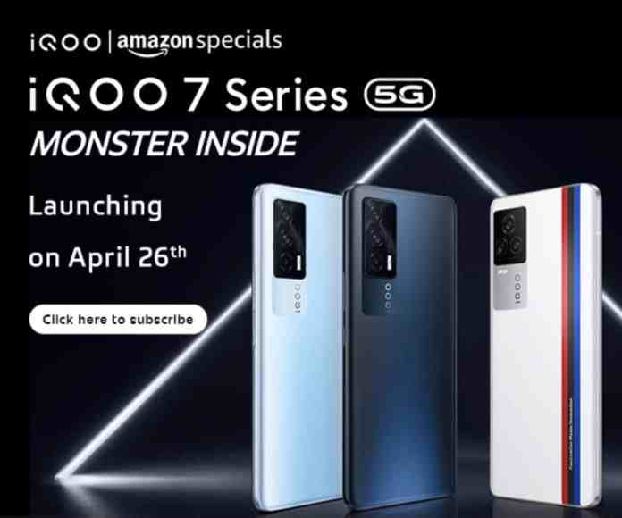 iQOO 7 is the rebranded iQOO Neo 5 for India, launching on April 26