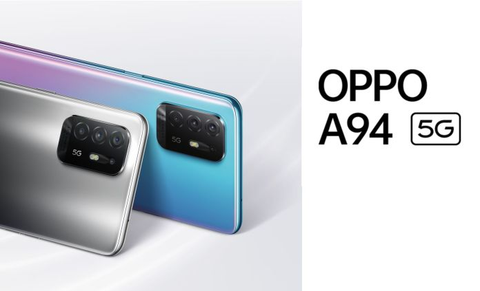 Oppo A94 5G announced with Dimensity 800U at 359 Euro