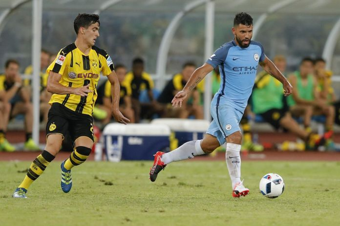 Champions League: Manchester City vs Borussia Dortmund ...  |Man City-dortmund