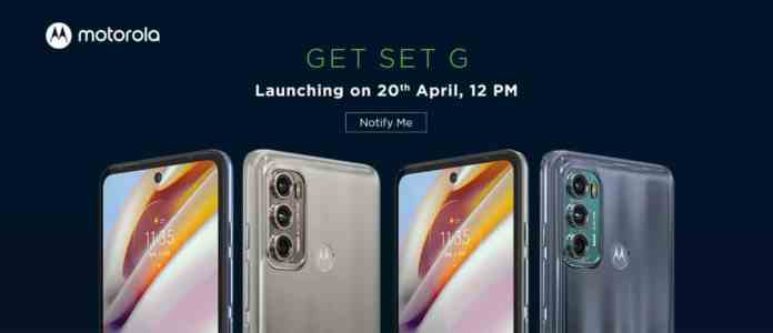 Moto G60 and Moto G40 Fusion launching in India on April 20