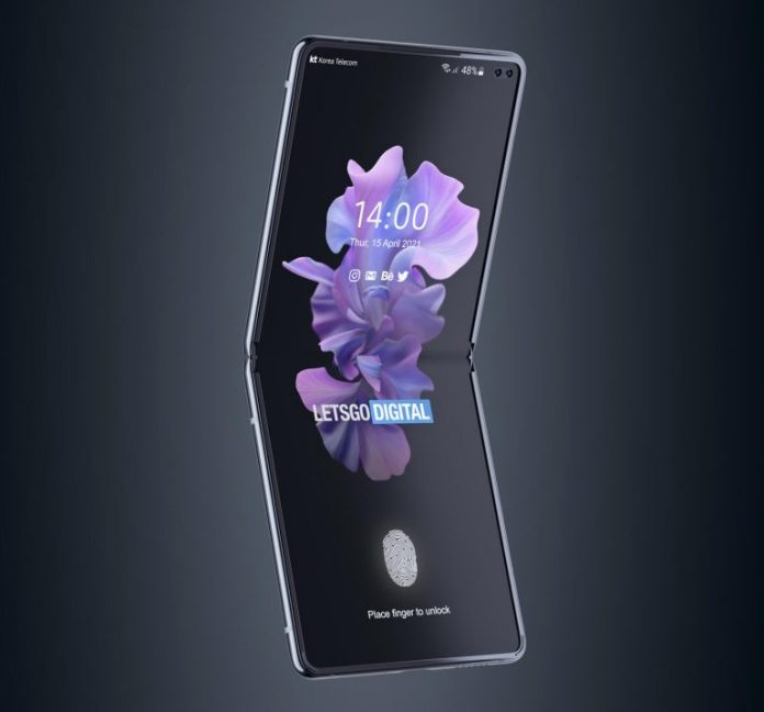 Report: Samsung patents Galaxy Z Flip smartphone design with a dual punch-hole camera
