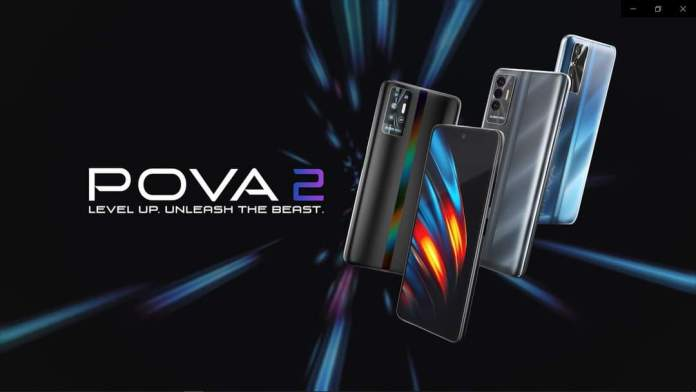 Tecno POVA 2 initial looks and specs out!