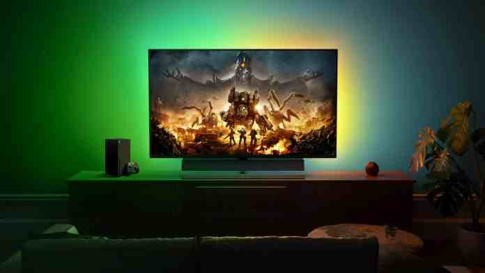 Philips Momentum 559M1RYV gaming monitor is designed for Xbox gaming