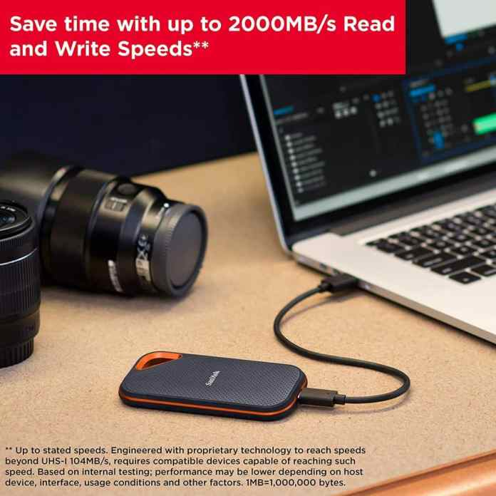 Amazon Prime Day deal: SanDisk Extreme PRO Portable External SSDs discounted