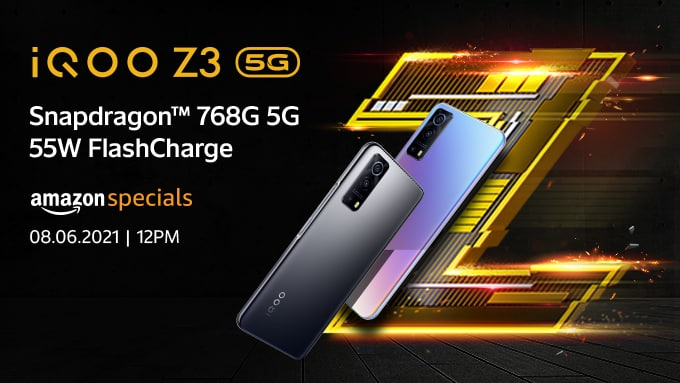 iQOO Z3 5G Expected Launch Price in India