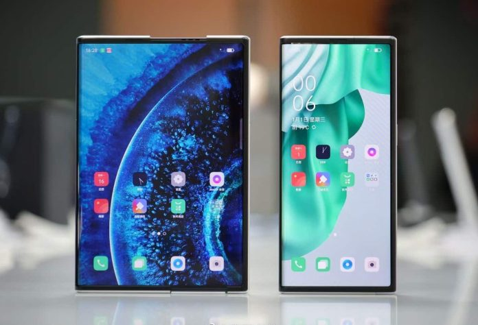 Oppo's rollable concept phone views no sign of commercial release