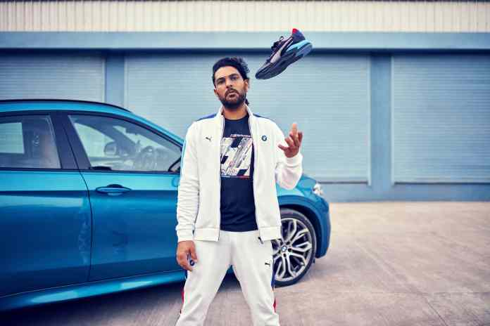 From Cricket to the fast lane, Yuvraj Singh becomes the face of Puma Motorsport in India