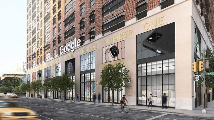 Google opens its first-ever physical retail store in NYC
