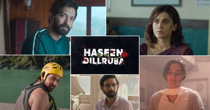 """""""Haseen Dillruba"""": The Trailer of Taapse Pannu's exciting Love Triangle series has been released"""