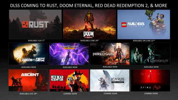 NVIDIA brings RTX support even more Games