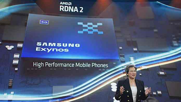Samsung smartphones to soon start featuring AMD's mRDNA2 GPUs