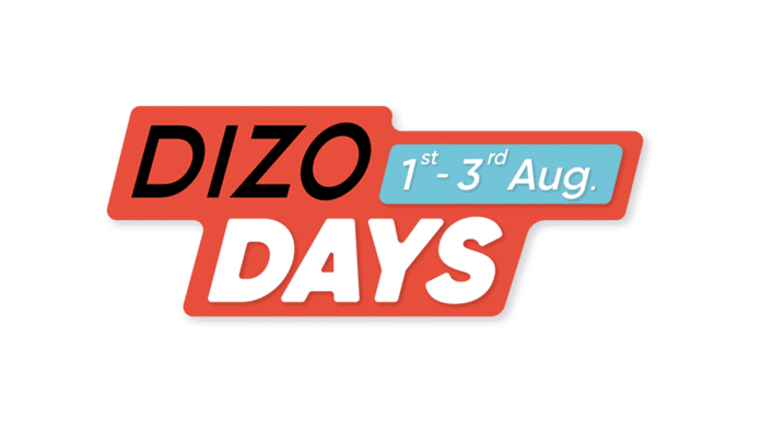 DIZO announces 'DIZO Days' for special offers on DIZO products from 1st August