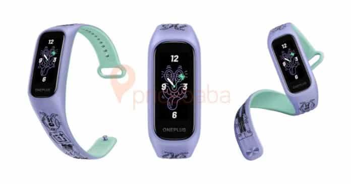 OnePlus Band Steven Harrington Design and specs revealed, AMOLED display and SpO2 sensor spotted